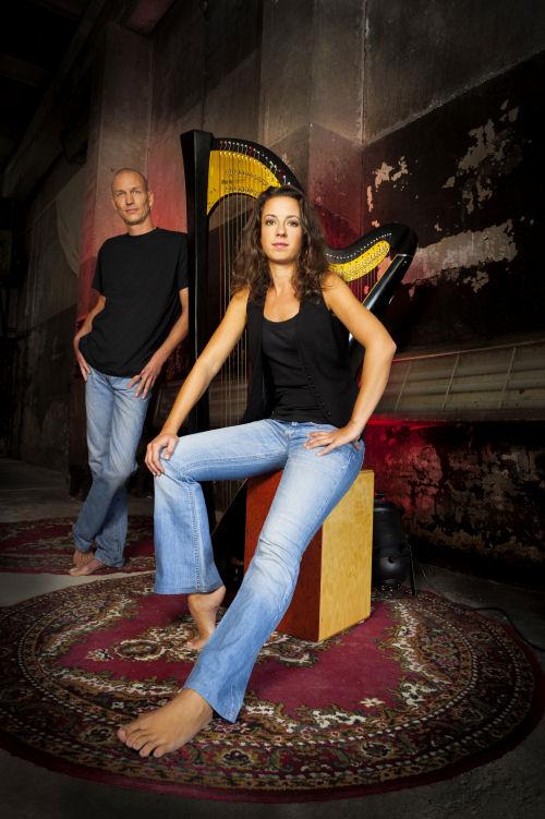 Jeanine Vahldiek Band – Harfe und Percussion