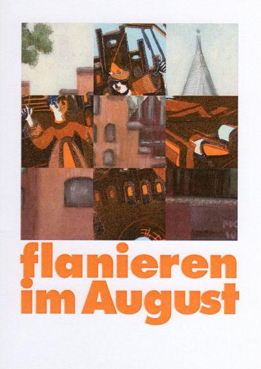 Hilke Hein und Maren-Josepha Kaiser Flanieren im August – Gemeinschaftsausstellung