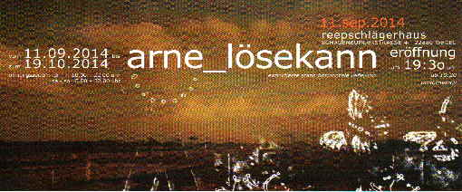 Arne Lösekann – extrudierte transhorizontale reflektion