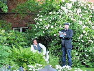 Sonne & Reden – Open Air  Fabuliert durch die Schreibmaschinen