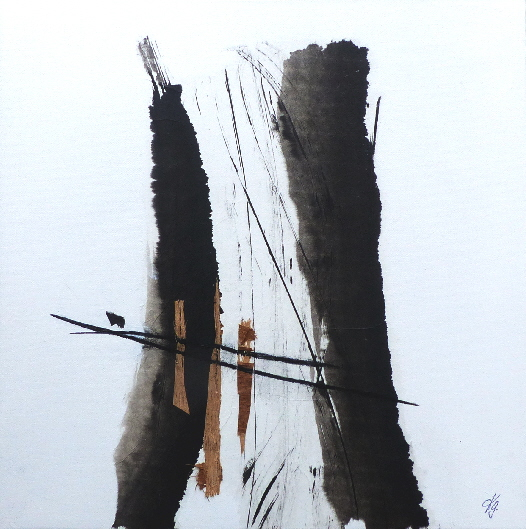 Karin Goetzen M – A – C Monotypien – Acrylmalerei – Collagen
