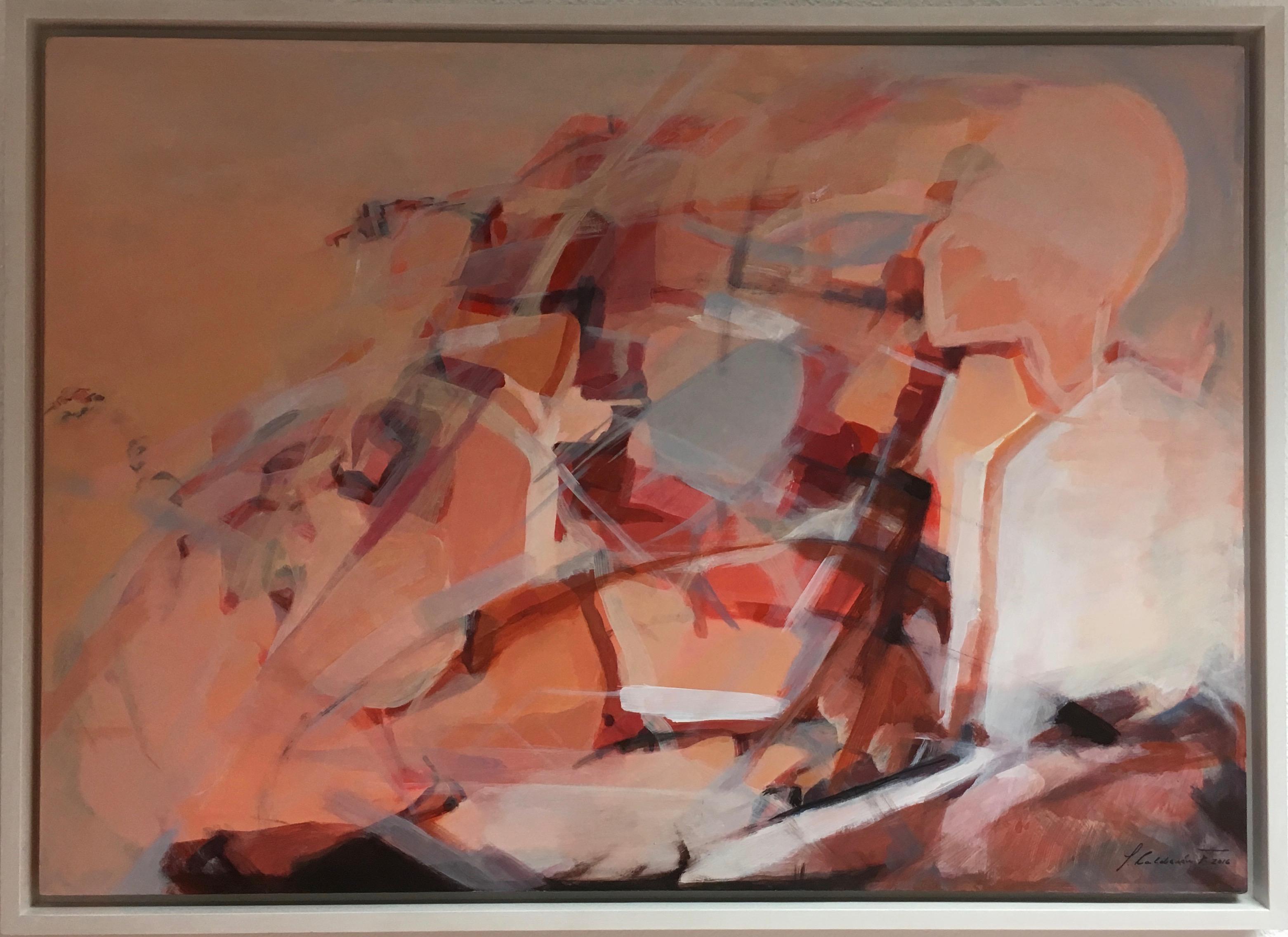 """""""Natur-Impressionen"""" Isabel Calderón Vom Gegenständlichen zur Abstraktion"""