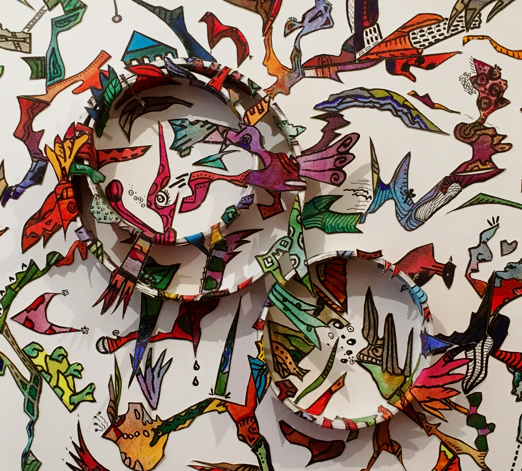 Farbgeschichten – Ausstellung von Kathrin Rosenberger